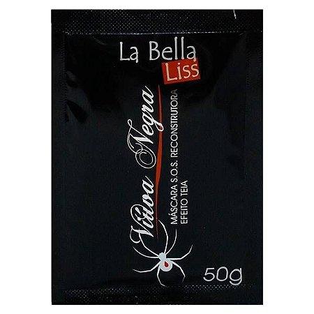 Reconstrução Efeito Teia La Bella Liss Viúva Negra Sachê 50g