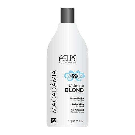 Selagem Térmica Ultimate Blond Felps Profissional Macadâmia 1000ml