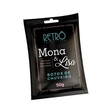 Botox de Chuveiro Mona & Lisa Retrô Cosméticos Sachê 50g