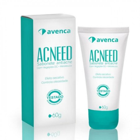 Sabonete Antiacne Acneed Avenca 60g