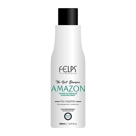 Shampoo que Alisa Felps Profissional The Best Amazon 500ml