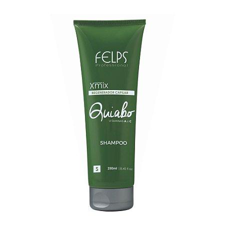 Shampoo Regenerador Capilar Felps Profissional Xmix Quiabo 250ml