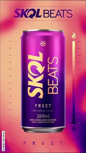 SKOL BEATS FROZEN LATA 269ML
