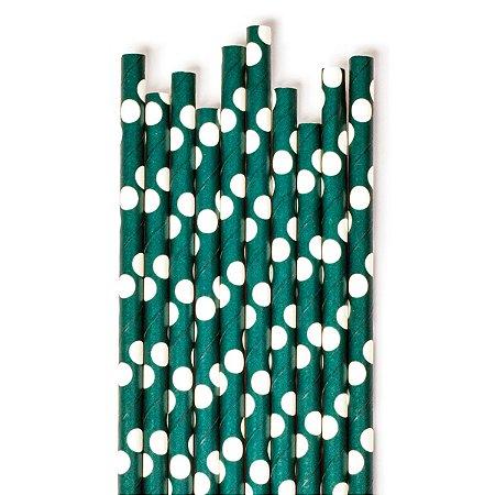 Canudos de Papel Poás - Embalagem com 25 Unidades