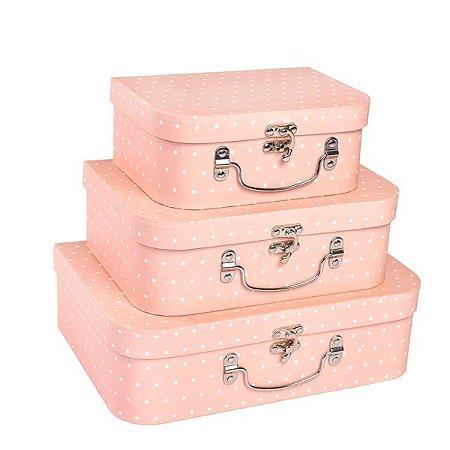 Maletas de Póas  - Kit com 4 caixas