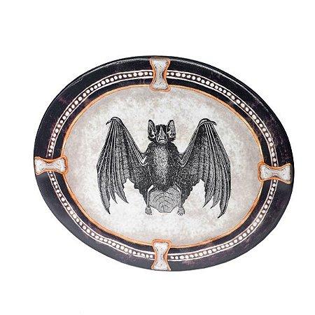 Conjunto de Pratos MidNight Cerâmica - Kit com 4 peças