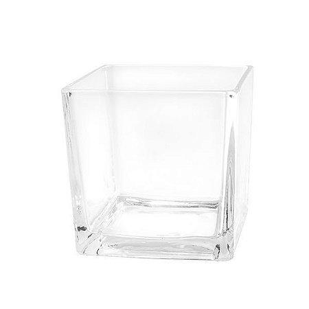 Vaso de Vidro Mode - 5 x 5 cm - 1 Unidade
