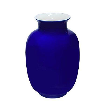 Vaso de Cerâmica Blue - 24 x 14 cm - 1 Unidade