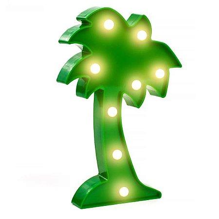 Coqueiro Luminoso LED - 25 cm - 1 Unidade