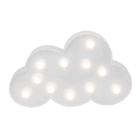 Nuvem LED Branca - 29 cm - 1 Unidade