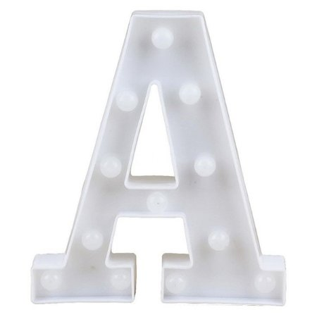 Letras Luminosas LED/ A - 22 CM - 1 Unidade