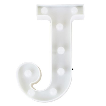 Letras Luminosas LED/ J - 22 CM - 1 Unidade