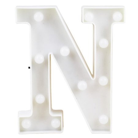 Letras Luminosas LED/ N - 22 CM - 1 Unidade