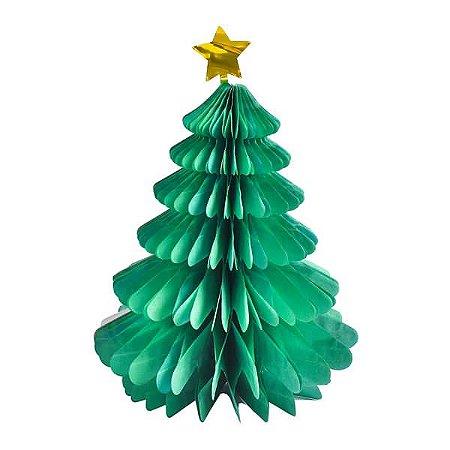 Árvore de Papel Natal - 30 cm - 1 Unidade