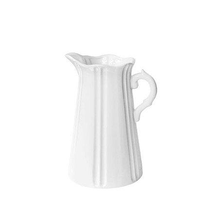Vaso de Cerâmica Jarra Croisete - 23 x 14 cm - 1 Unidade