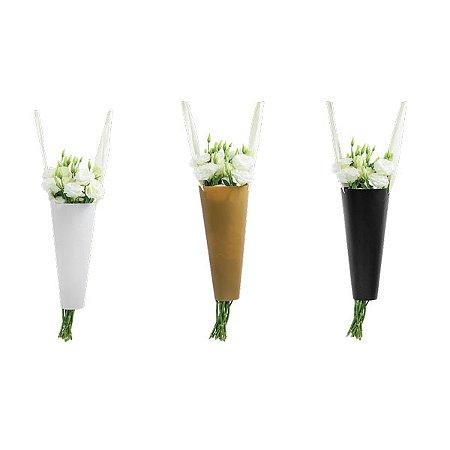 Kit Sacola para Flores - 26 x 16 cm - 12 Unidades