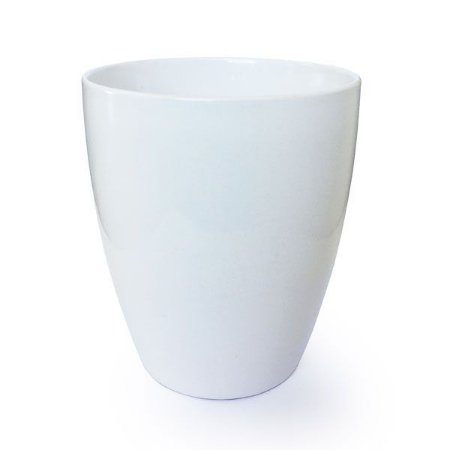 Vaso Branco Off White 1 - 15 cm - 1 Unidade