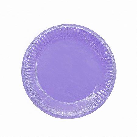 Prato Redondo Liso - Embalagem com 10 unidades