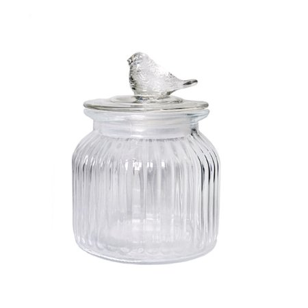 Bombonière Bird Cristal - 15 cm - 1 Unidade