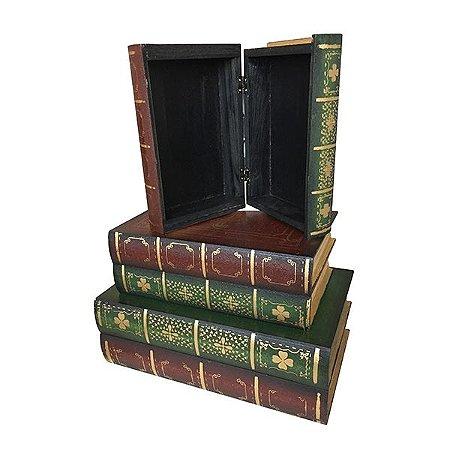 Livro Madeira Potter - Kit com 3 Unidades