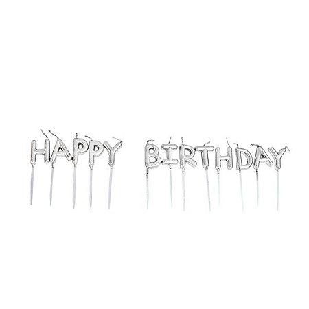 Vela Happy Birthday - 1 Unidade