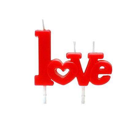 Vela Love - 1 Unidade
