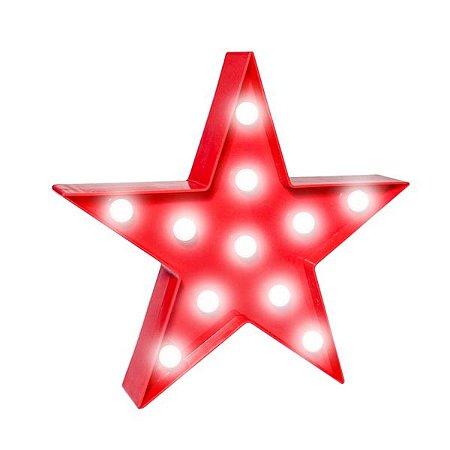Estrela Luminosa Led - 1 Unidade