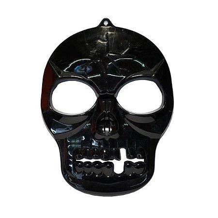 Enfeite Skull Face Decorativo - 1 Unidade