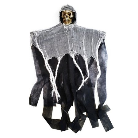 Enfeite Skull Ghost - 1 Unidade