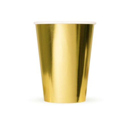 Copo de Papel All Gold - pct 10un