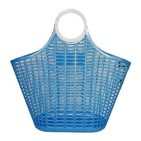 Sacola Plástico Gelbag Azul - 1 Unidade