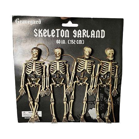 Guirlanda de Esqueletos - 1 Unidade