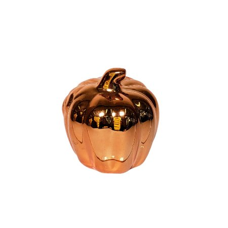 Abóbora Cinder Decorativa - Cores Sortidas - 1 Unidade