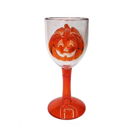 Taça de Plástico Abóbora - 1 Unidade