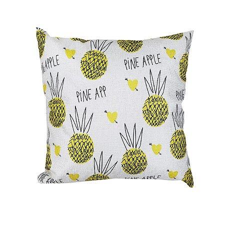 Capa de Almofada Ananas - 1 Unidade