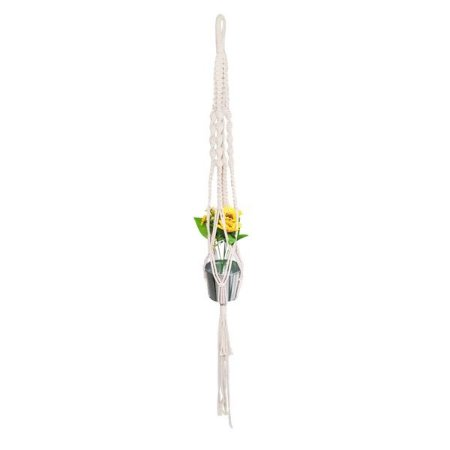 Suporte de Flores Macramê - 1 Unidade