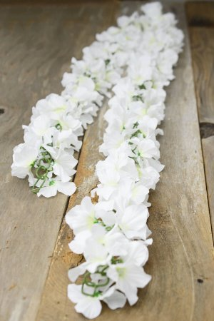 Flor Permanente Branco/Off White - 1 Unidade