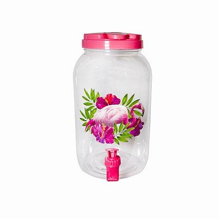 Suqueira Plástico Flamingo - 1 Unidade - 3,8 litros