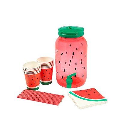 Suqueira de Plástico Melancia - 3,8L