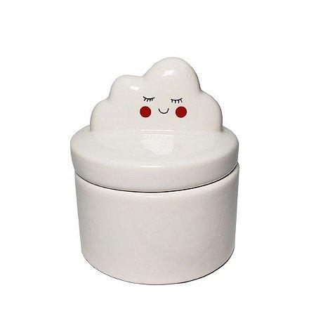 Caixinha de Ceramica Cute Cloud - 6pçs