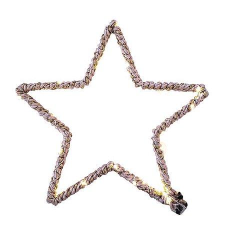 ESTRELA DECORATIVA SHINE 25cm