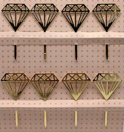 TOPO PARA DOCES DIAMOND 8X13CM