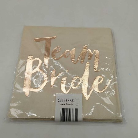 GUARDANAPO TEAM BRIDE 2CAMADAS, 20pcs, 16cm -