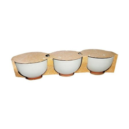 MINI BOWL DE CERÂMICA 11x7cm - 3pcs