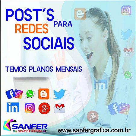 Post´s para Rede Social