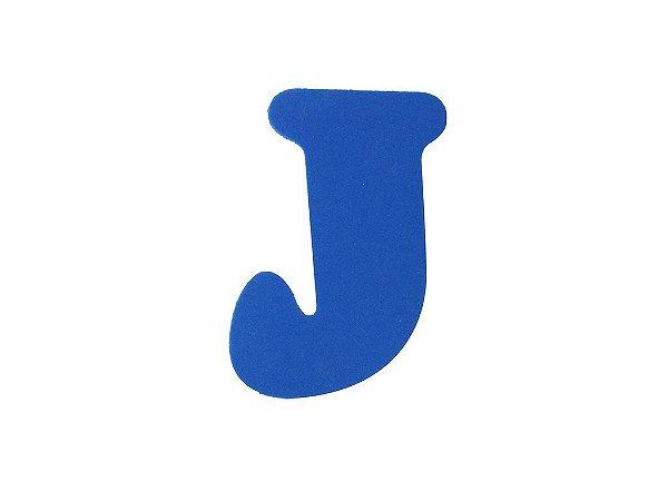 Letra J - Média em E.V.A Várias Cores - 1 Unidade