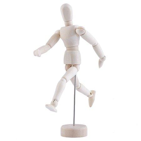 Mini Manequim Articulado 14 cm