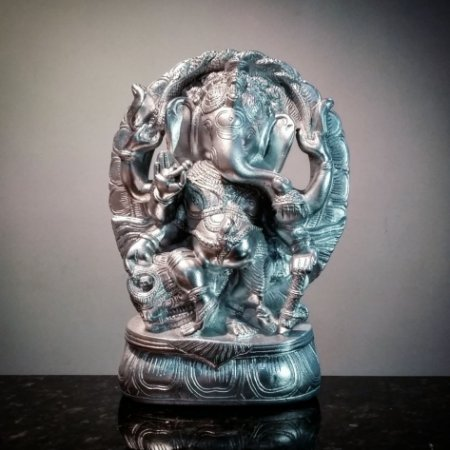 Ganesha Cromado