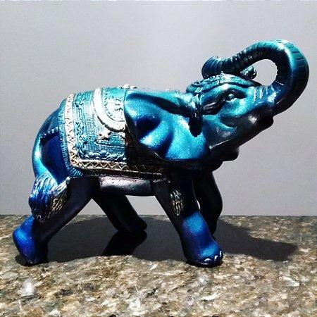 Elefante Indiano Metálico
