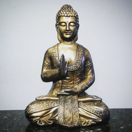Big Buda Zen Gold